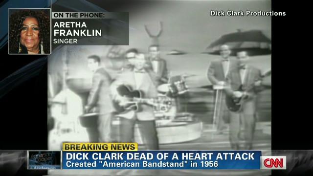 Aretha: Dick Clark party 'too fabulous'