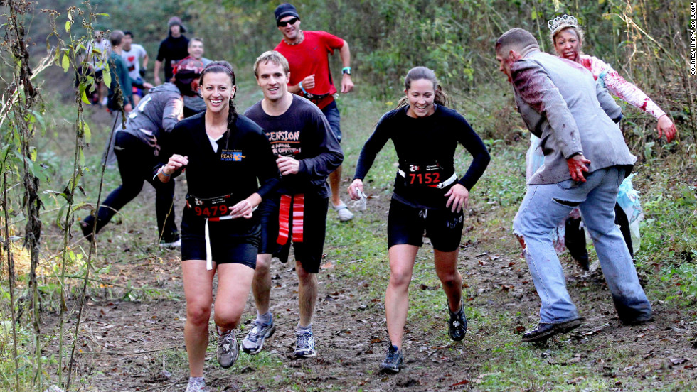 Oh, did we mention there would be mud and obstacles along the way? It is the apocalypse after all.