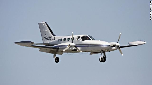 Peter Hertzak, piloting a Cessna 421 similar to this one, circled for hours before crashing into the Gulf.