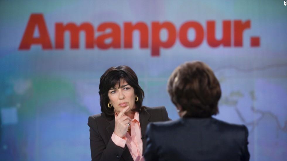 Amanpour's plea to protect journalism