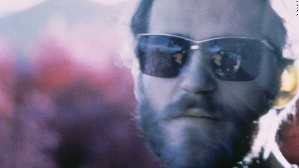 Levon Helm of The Band in Woodstock, New York, 1968.