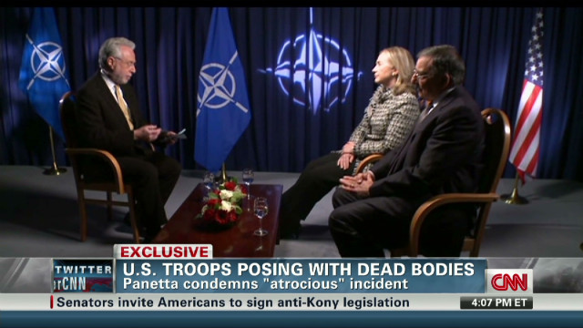 exp Panetta and Clinton discuss Iran with CNN's Wolf Blitzer_00000501