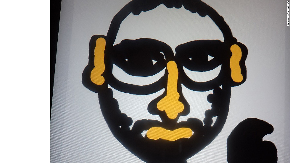 Lorena Isla created a stylized portrait of this tech industry icon in Draw Something.