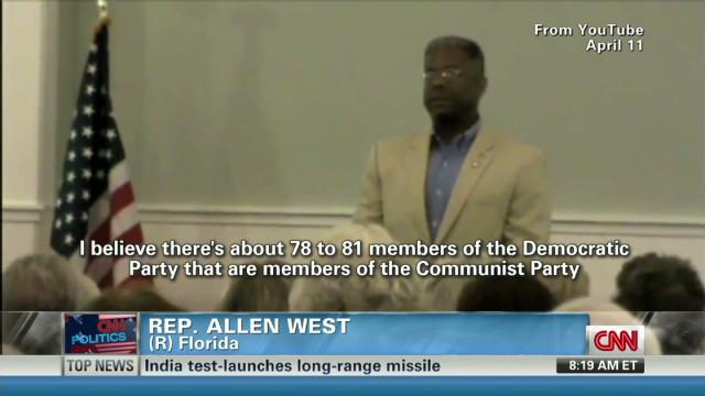 Rep. West avoids naming Communist reps