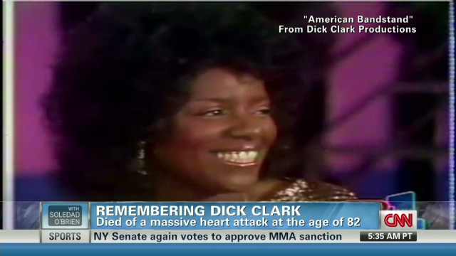 Gloria Gaynor on Dick Clark's legacy
