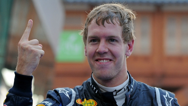 Red Bull's Sebastian Vettel appears to be closing in on his third straight F1 drivers' championship crown