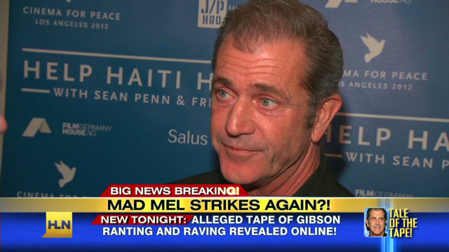 Mel Gibson allegedly rants on new tape