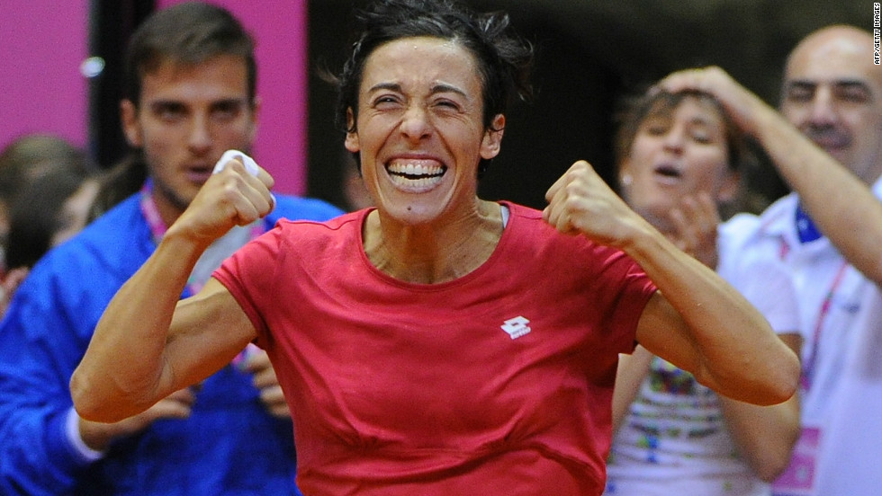 The Czech team will have to reverse a four-tie losing streak against Italy if they are to reach the final. The 2010 champions will be led by Francesca Schiavone, who also won the French Open that year. Schiavone will lead off against Lucie Safarova.