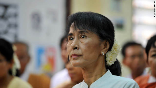 Aung San Suu Kyi and others in her party dispute Myanmar's oath of office