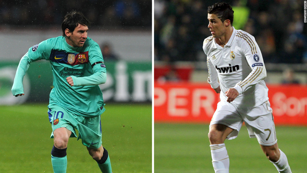 Lionel Messi and Cristiano Ronaldo have scored a staggering 116 goals between them this season in all competitions.