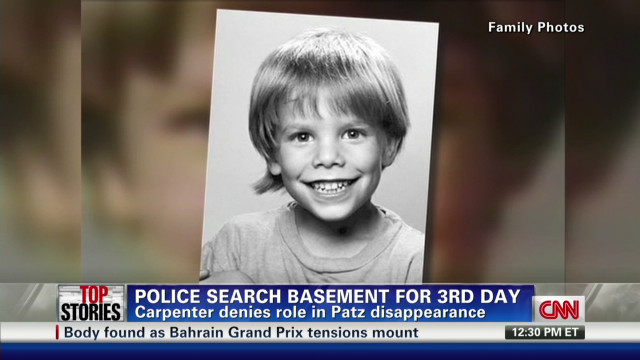 April: Police search basement for Etan Patz
