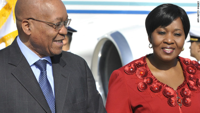South African President Jacob Zuma and Bongi Ngema have dated for years, and have a son together