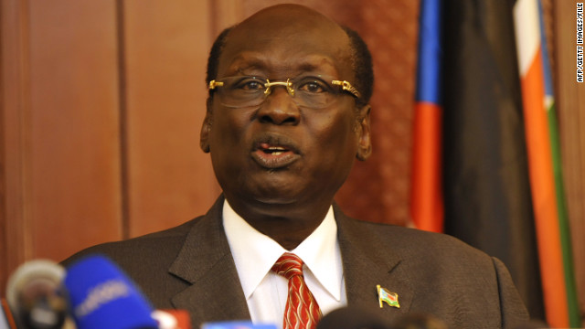 South Sudanese Information Minister Barnaba Marial Benjamin said rival Sudan began a series of attacks Sunday morning.