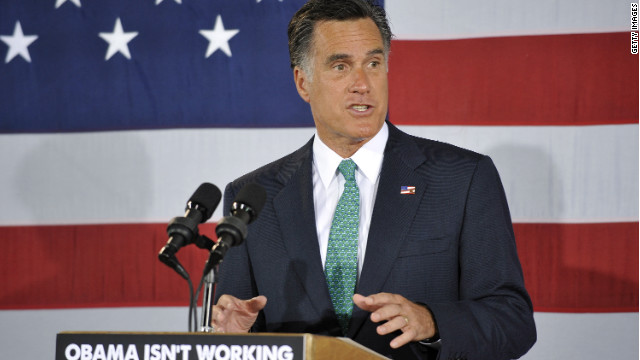Mitt Romney speaks to supporters during a campaign stop on April 18, 2012 in Charlotte, North Carolina.