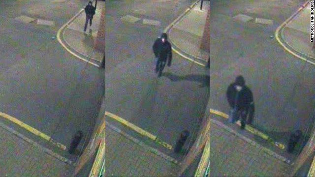 Police believe this is the man who shot Russian businessman German Gorbuntsov outside his east London home.