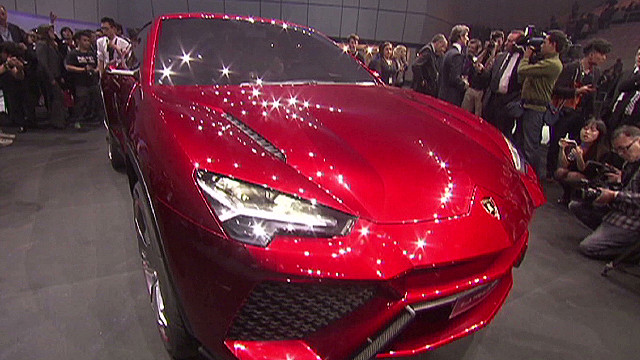 See the new Lamborghini Urus SUV