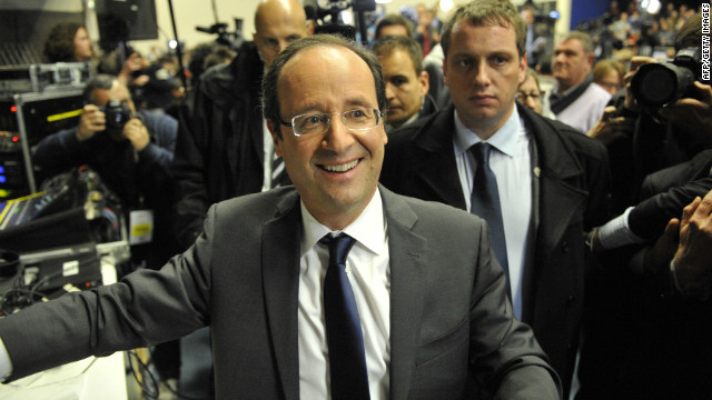 François Hollande's first round victory in the French presidential elections and the collapse of the Dutch government, after a clash over fiscal policy, hit financial markets.