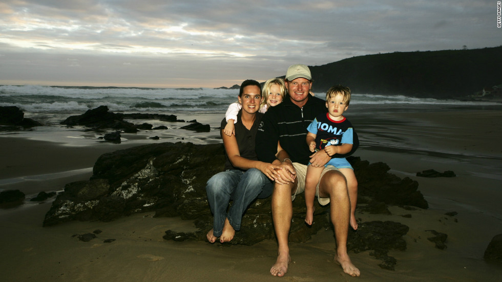 Els often returns to his native South Africa for vacations with his wife Liezl, Ben and daughter Samantha. He has invested heavily in the Cape region where he grew up, opening a golf foundation for disadvantaged youngsters, a wine and restaurant business and a resort.