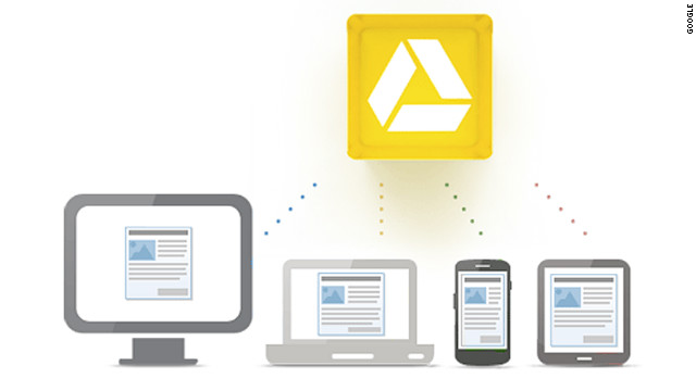 Google Drive will immediately be available for PCs and Macs, as well as Android.