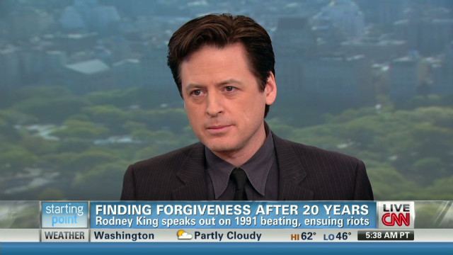 King finds forgiveness after 21 years