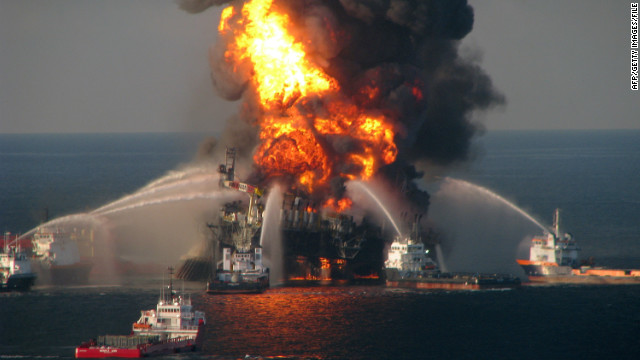 BP to pay record fine for oil spill