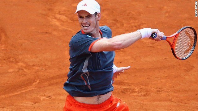 Andy Murray recorded only his second win in four visits to the Barcelona Open.