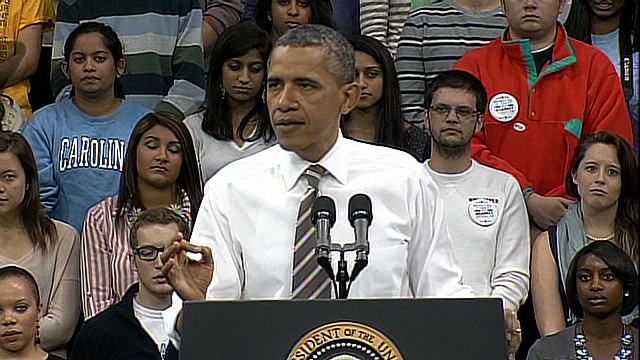 Obama: 'We had a mountain of debt'