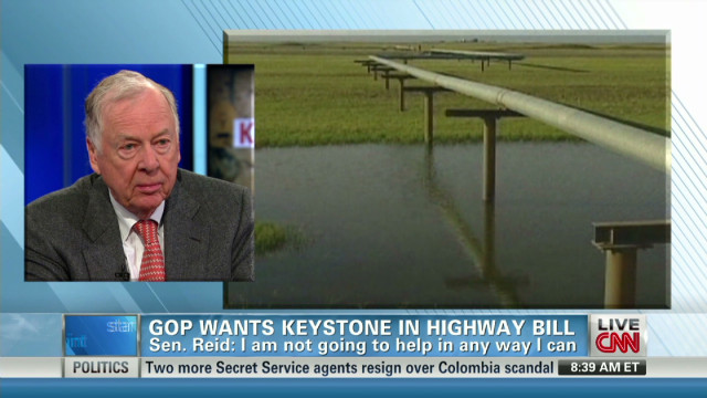 PIckens on importance of Keystone