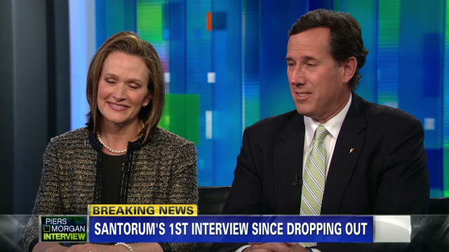 Santorum: We worked hard