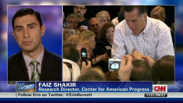 Romney declares victory