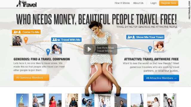 Is MissTravel.com like an escort service? CEO Brandon Wade explains the philosophy