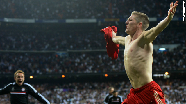 Bastian Schweinsteiger sends Bayern Munich into the Champions League final.