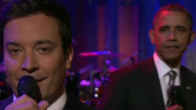 Obama slow jams with Jimmy Fallon