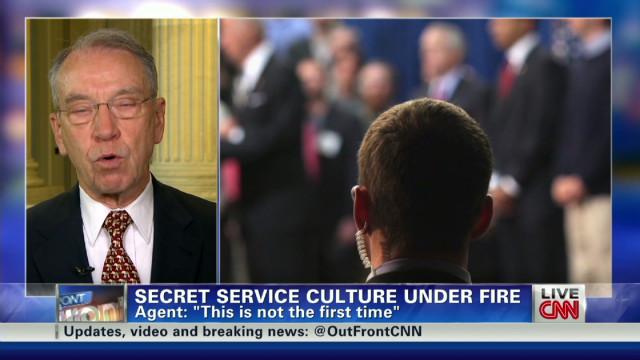 Grassley questions Secret Service