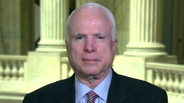McCain: No hope for U.N. mission in Syria