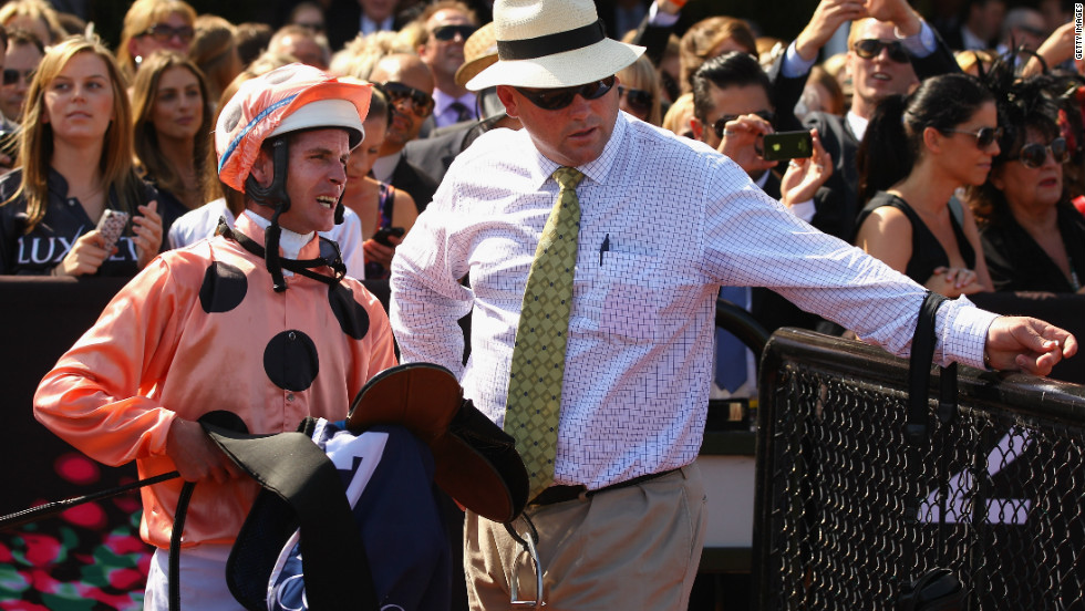 Melbourne jockey Luke Nolan and trainer Peter Moody will be hoping their champion throroughbred can continue her unbroken winning streak.