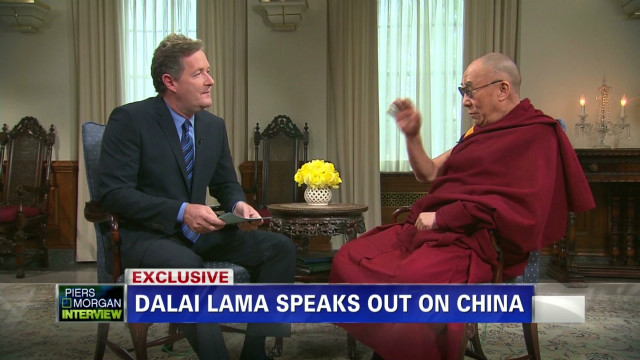 Dalai Lama: China belongs to the people