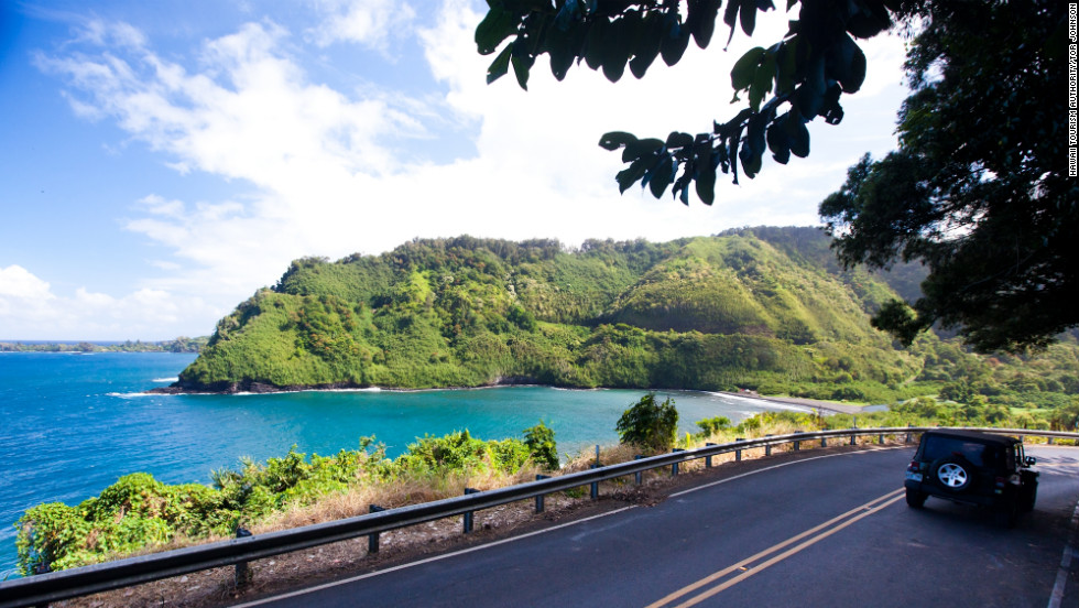 The road to Hana is a scenic, sometimes hair-raising drive in Maui.