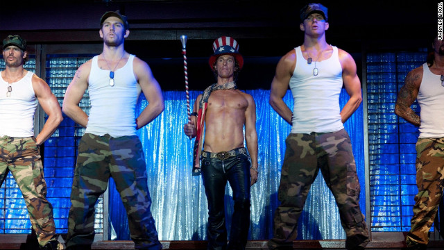 """Magic Mike"" may just draw in a few female viewers this weekend."