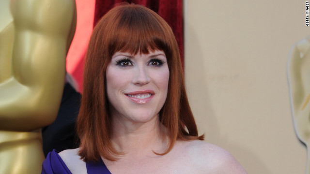 Molly Ringwald, shown here attending the 82nd Academy Awards in 2010.