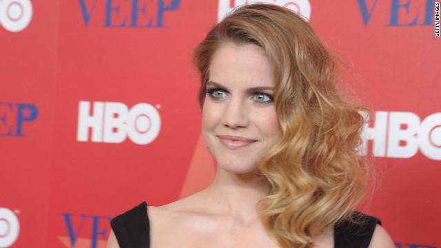 "Anna Chlumsky, shown here attending the ""Veep"" screening in April."