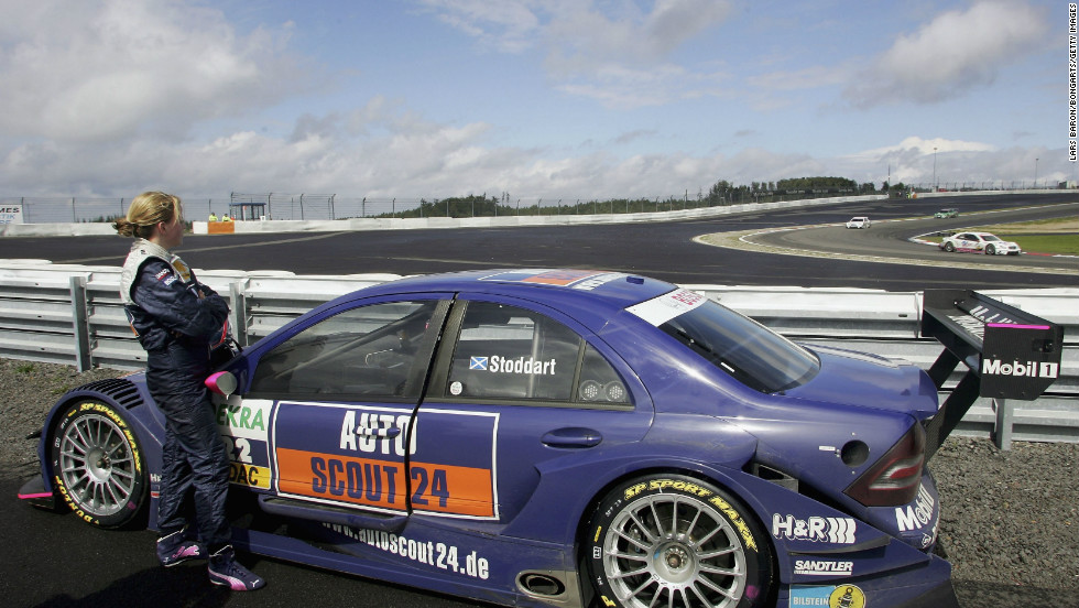 "At the 2006 DTM championship in Germany. In motorsport, Wolff says, you have to put up an emotional wall. ""My family say when they see me on a race weekend, I'm a different person."""