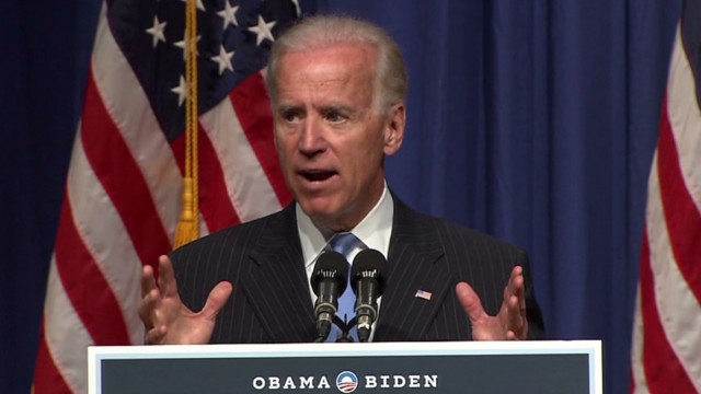 Biden brags about Obama's 'big stick'