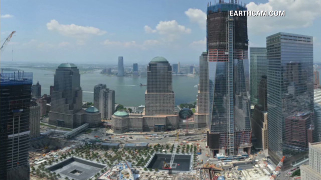 Time-lapse: New World Trade Center tower