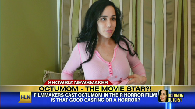 Octuplet mom to star in horror movie