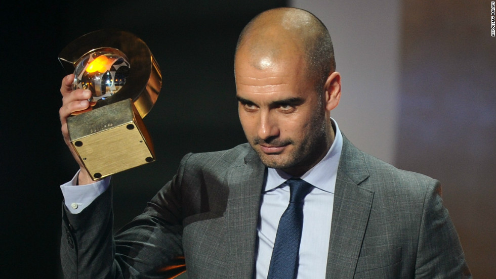 "Guardiola won the FIFA Men's Football Coach of the Year award in January 2012. ""I can't promise you silverware, but I can say that we'll keep on battling to the end and you'll be proud of us,"" he said after becoming coach four years ago."