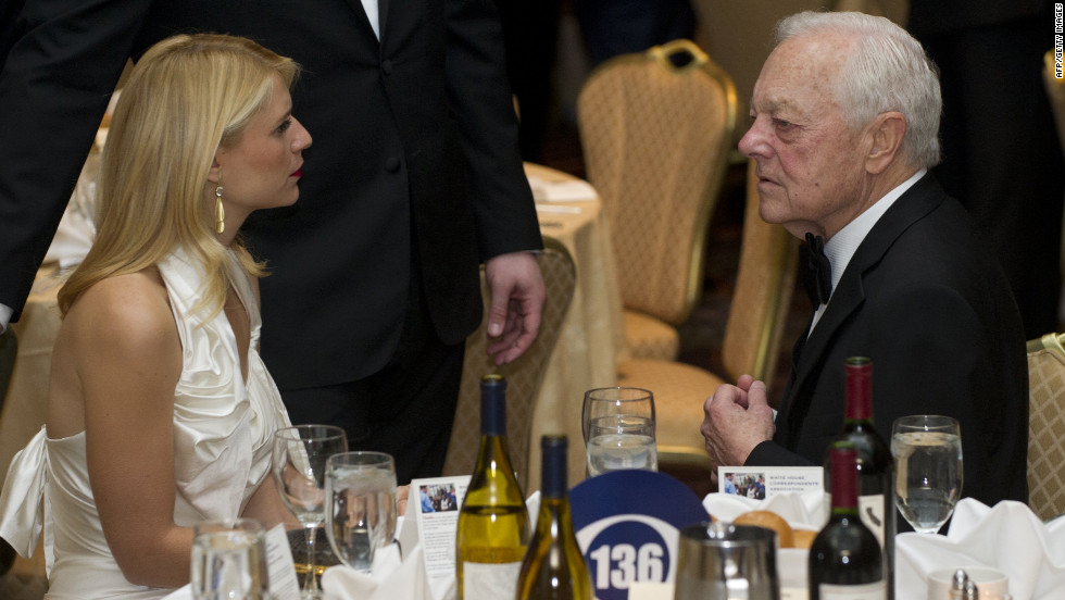 Claire Danes speaks with Bob Schieffer of CBS News.