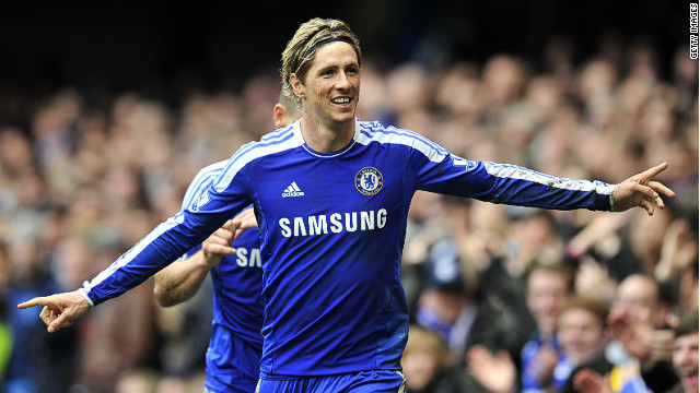 Flying high again: Fernando Torres scored a hat-trick on Sunday capping his best week for Chelsea since arriving last year