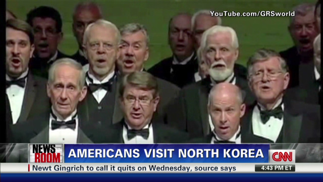Baptist singers take trip to N. Korea