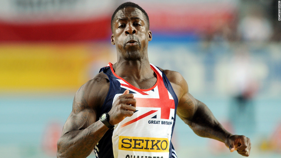Sprinter Dwain Chambers, 34, tested positive for the designer drug THG in 2003. he was given a two-year ban from athletics and a lifetime Olympic ban. He was stripped of his silver medal won in the 100m relay at the 2003 World Championships. The bust also cost team mates Darren Campbell, Marlon Devonish and Christian Malcolm their medals. Chambers returned to competing in June 2006, winning gold in the 100m relay at the European Championships.